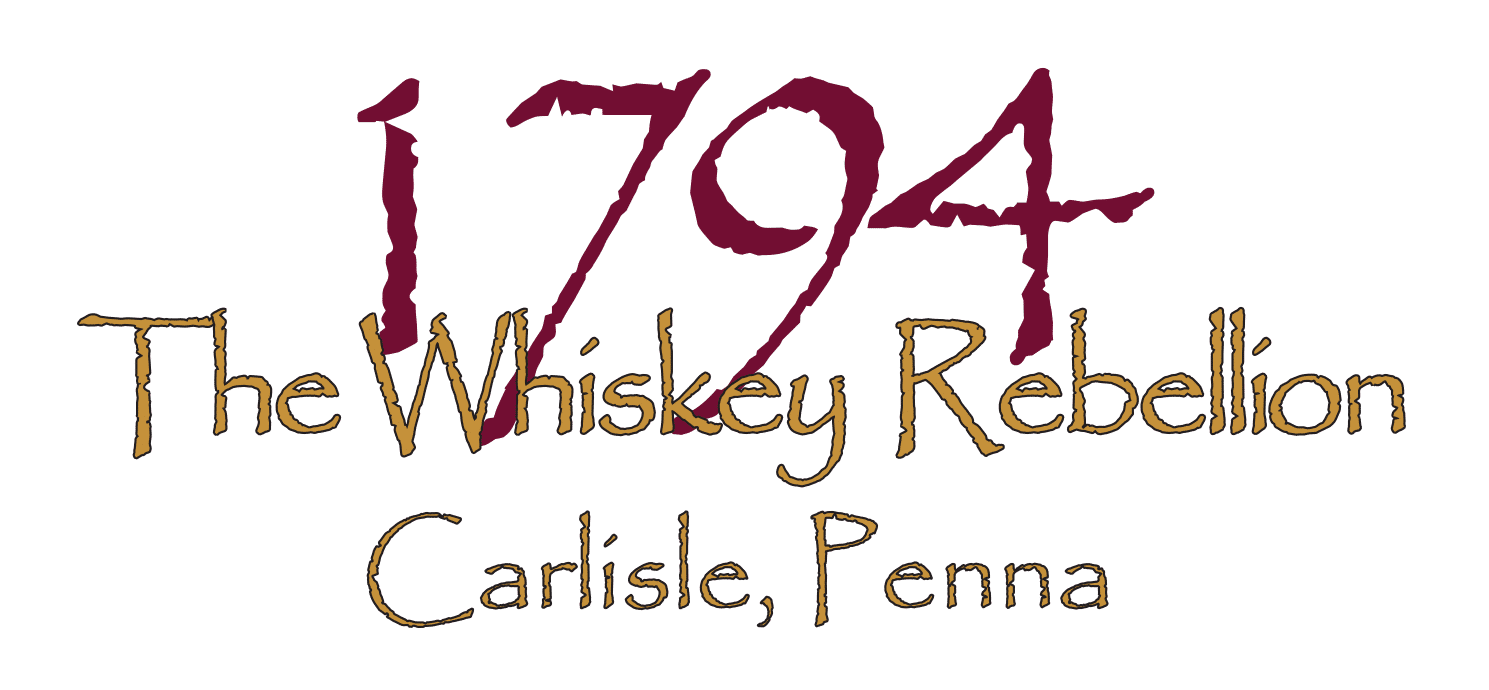 1794 The Whiskey Rebellion Carlisle PA logo