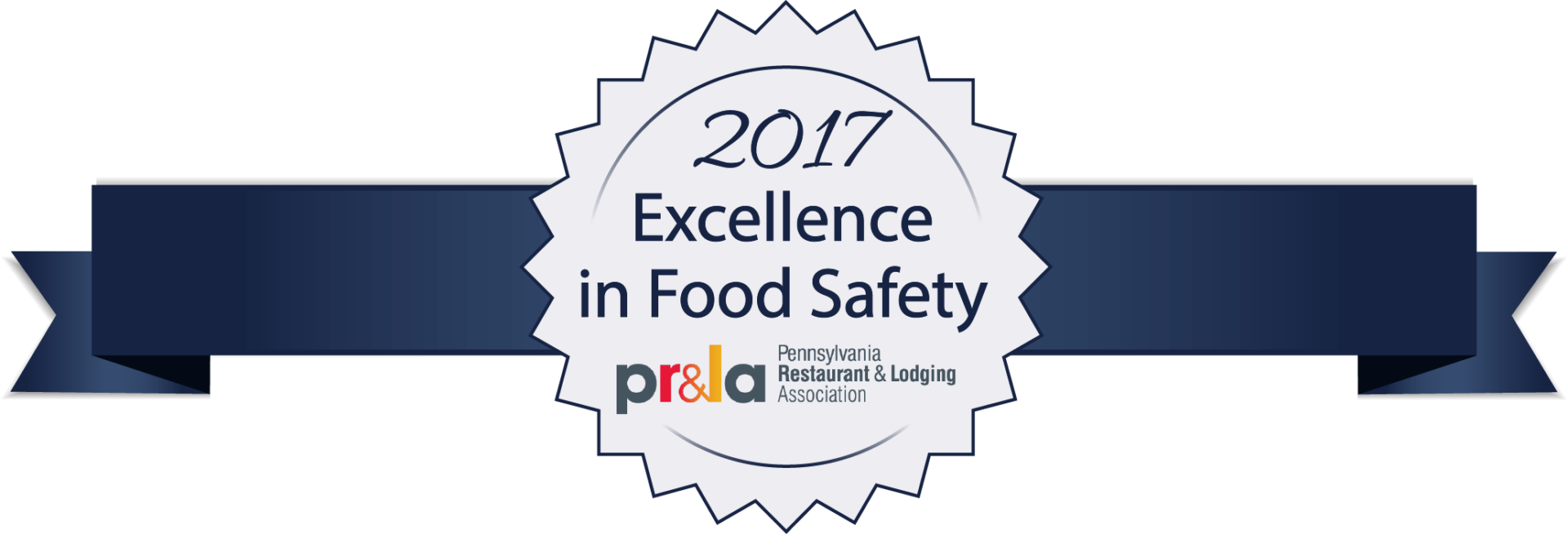 2017 excellence in food safety badge