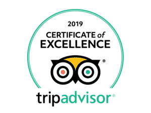 2019 TripAdvisor Certificate of Excellence