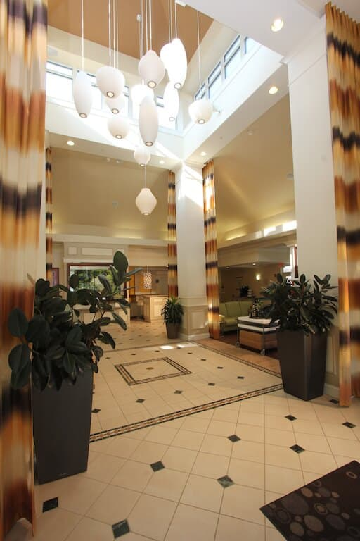 Lobby- High ceilings view