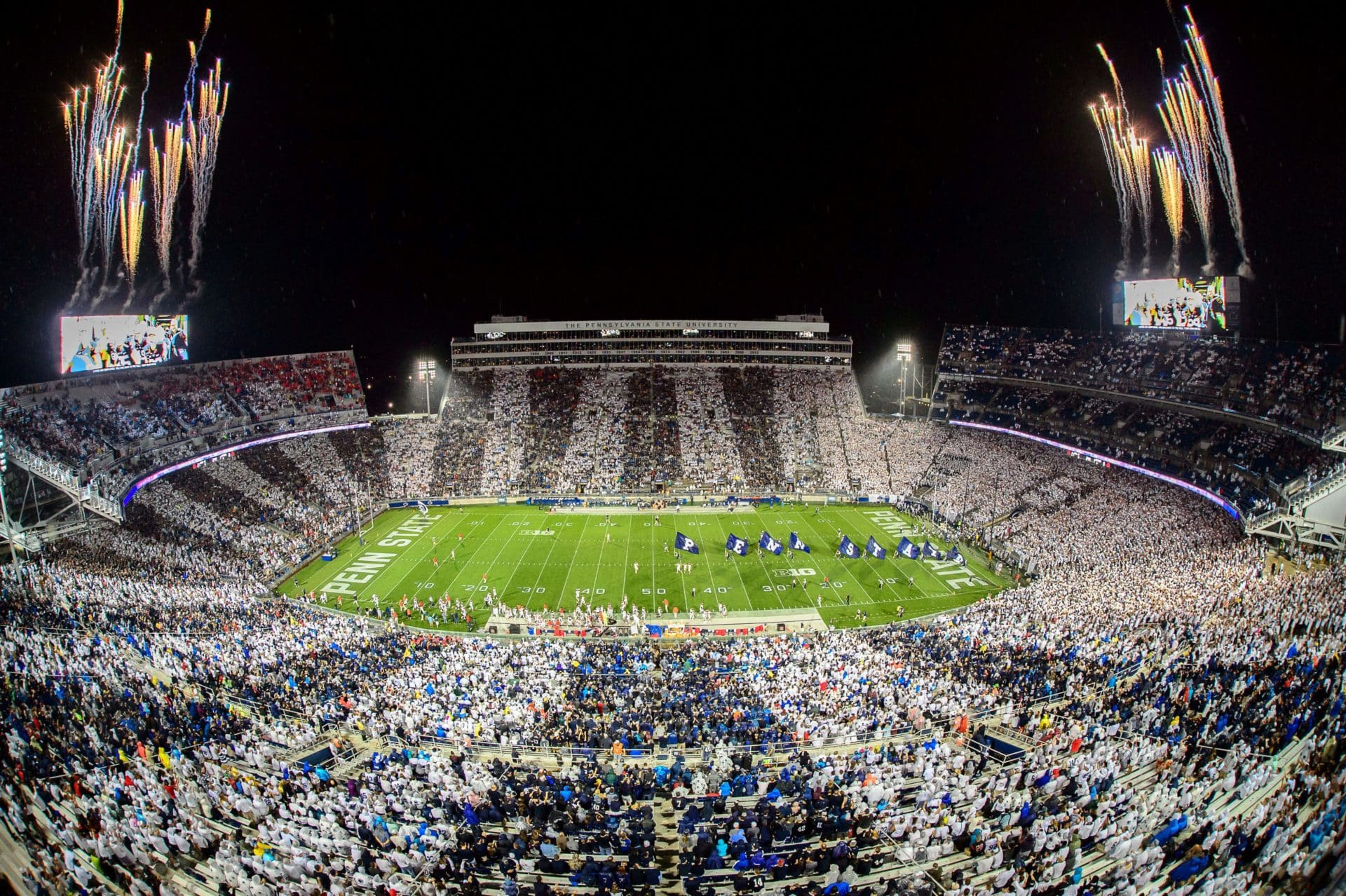 Beaver Stadium Stripe Out