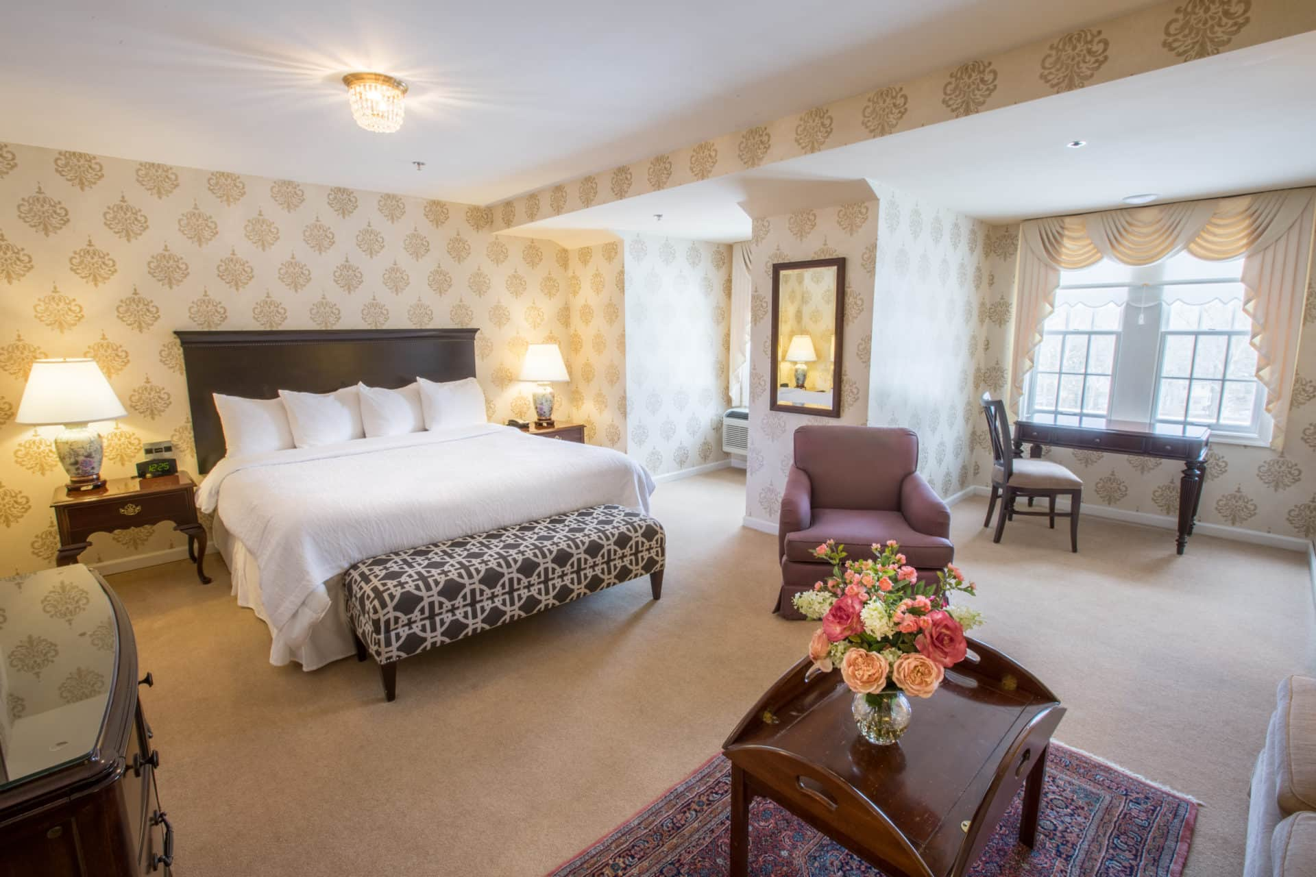 carnegie inn and spa room