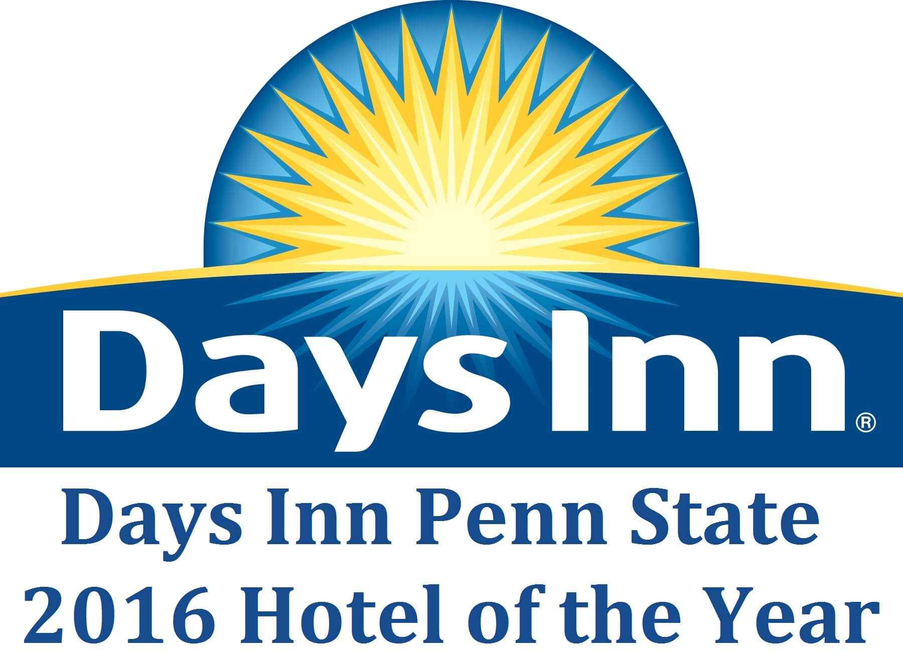 2016 Hotel of the Year Days Inn Penn State