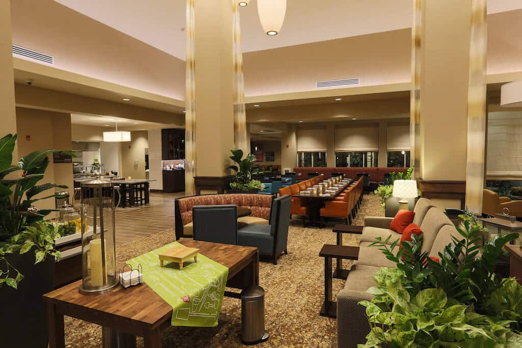 hilton garden inn indiana at iup lion country lodging