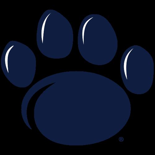 blue penn state paw