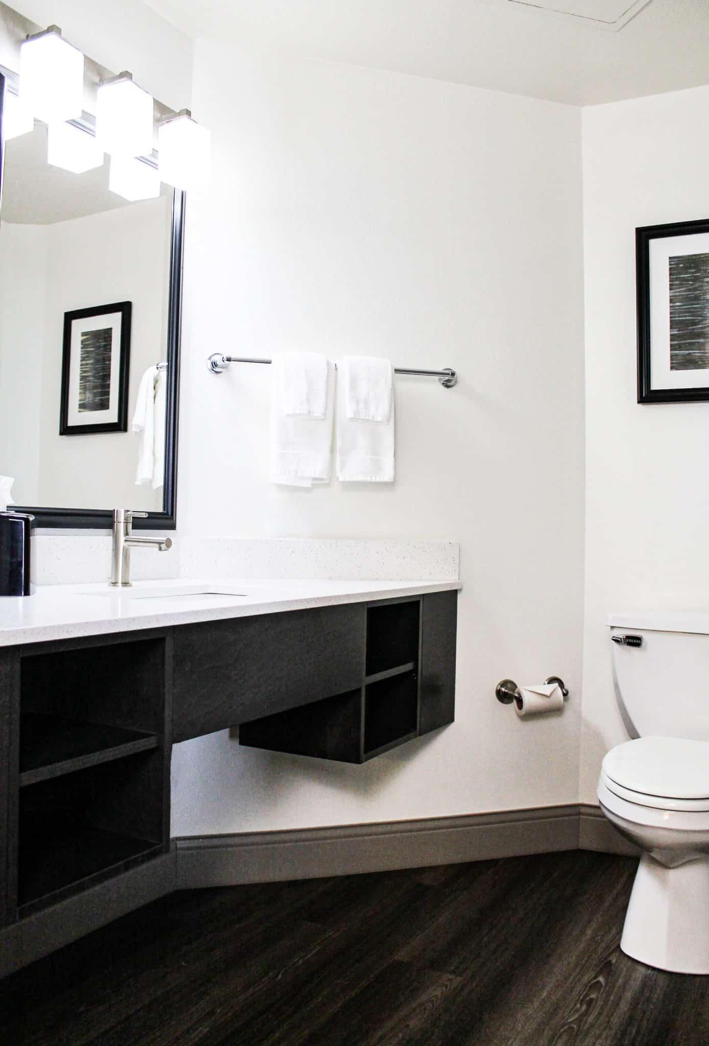 Quality Inn State College Bathroom