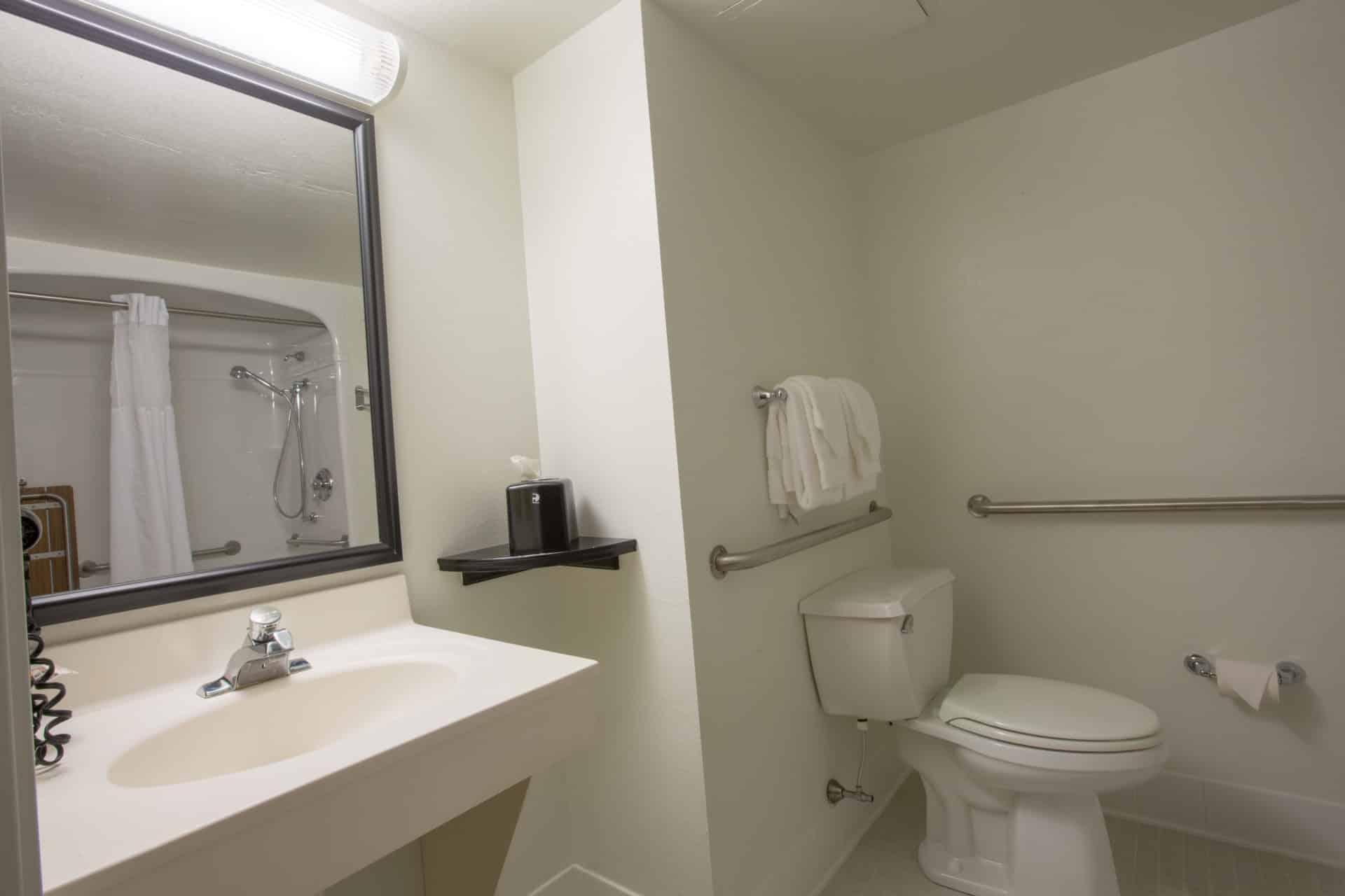 quality inn bathroom