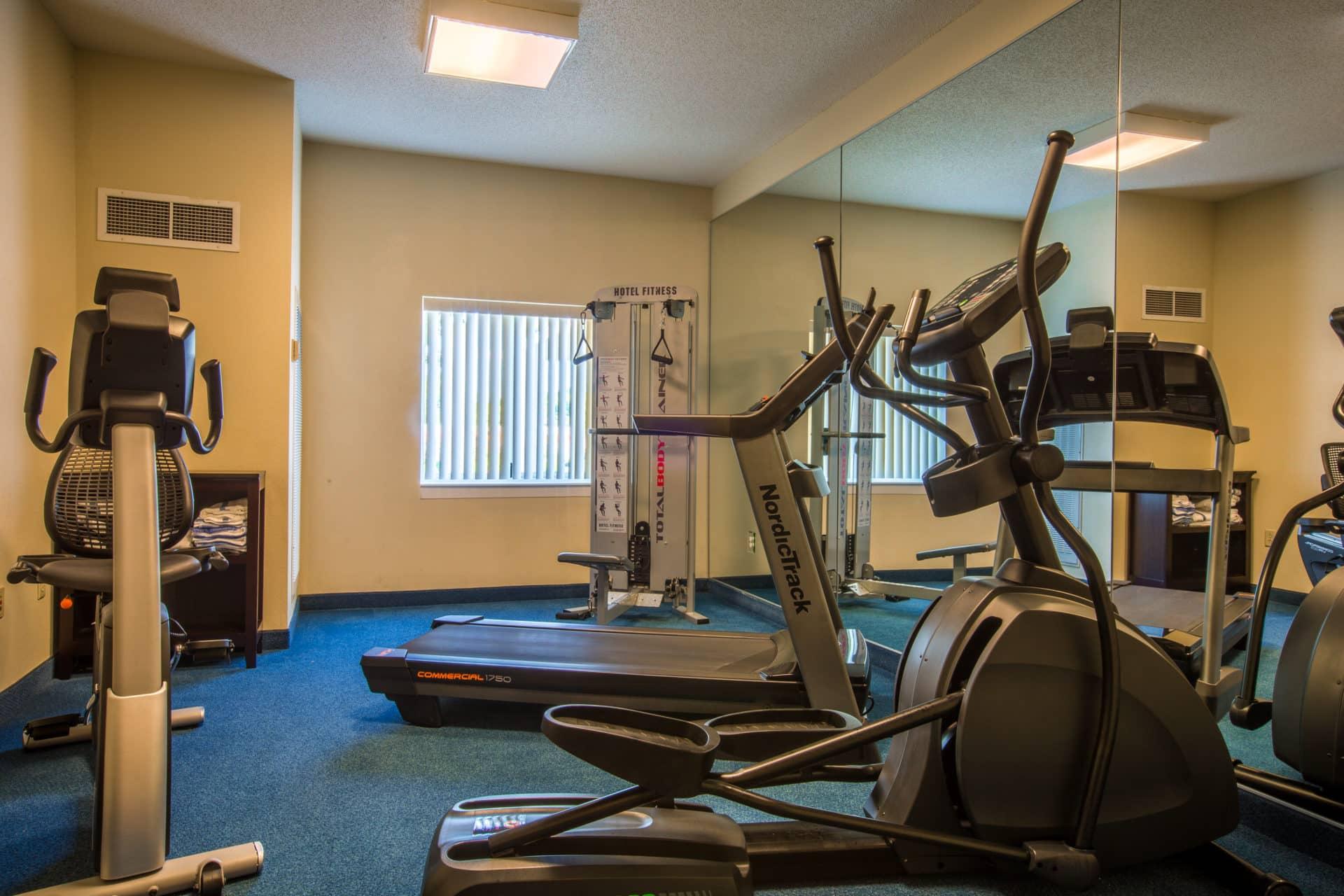 quality inn gym