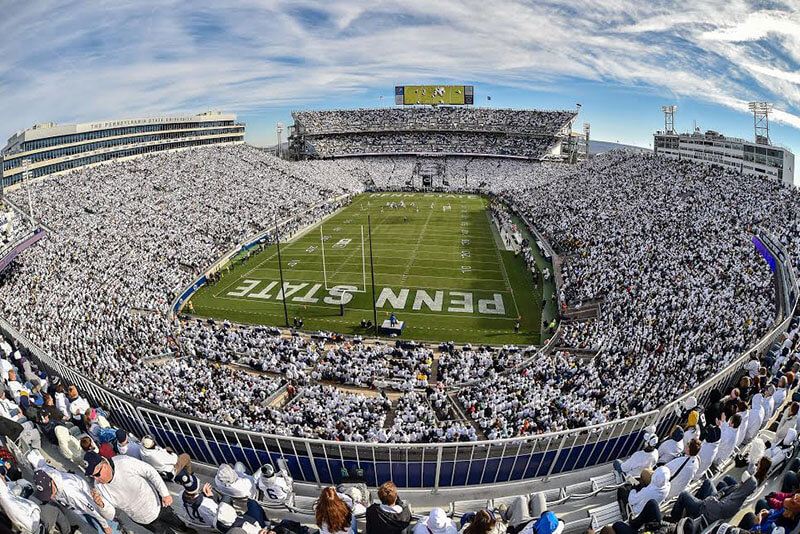 beaver stadium white out